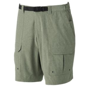Men's Croft & Barrow® Classic-Fit Belted Performance Cargo Shorts